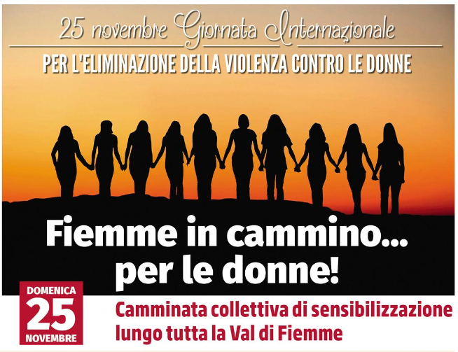 Fiemme in cammino .... per le donne!